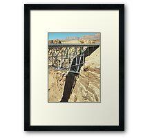 Navajo Bridge Arizona Framed Print