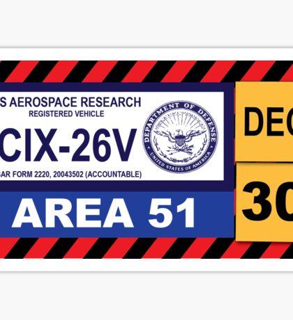 Area 51 Decal Sticker