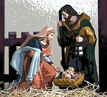 Away In The Manger by George Lenz