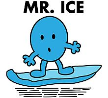 Mr. Ice Photographic Print