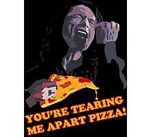 Tear-Apart Pizza Photographic Print