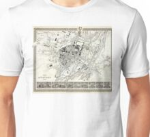 Plan of Munich - 1844 Unisex T-Shirt