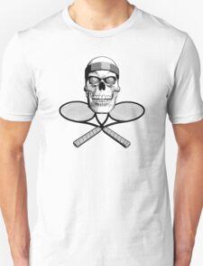 Tennis Skull and Rackets T-Shirt