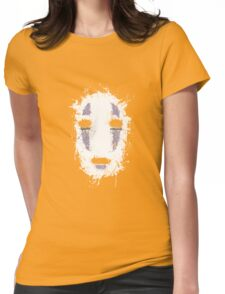 Ink No Face Womens Fitted T-Shirt