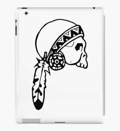 Skull American Native iPad Case/Skin