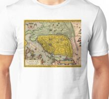Map of China - Ortelius - 1584 Unisex T-Shirt
