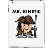 Mr. Kinetic iPad Case/Skin