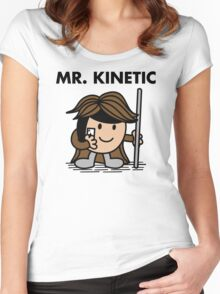 Mr. Kinetic Women's Fitted Scoop T-Shirt