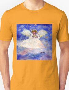 Serene Whimsical Angel Artisan Unisex T-Shirt