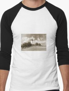 Byron Bay  Men's Baseball ¾ T-Shirt
