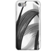 Abstract Drawing black white colours iPhone Case/Skin
