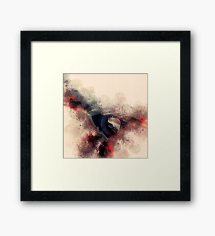 Project Zed Framed Print