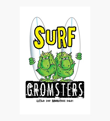 Surf Gromsters V2 Photographic Print