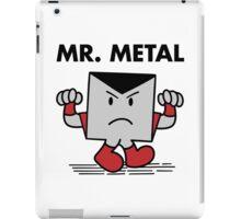 Mr. Metal iPad Case/Skin