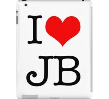 I Love JB iPad Case/Skin