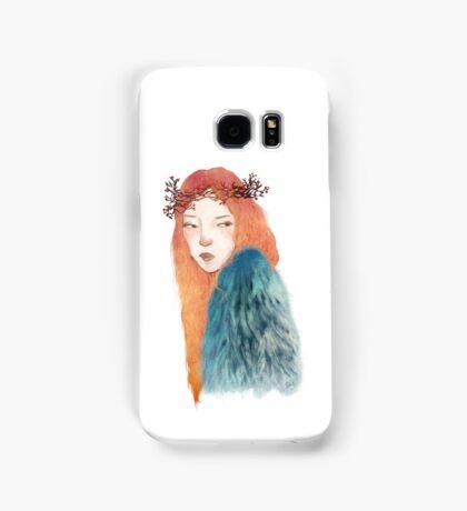 Berries Crown Girl Samsung Galaxy Case/Skin