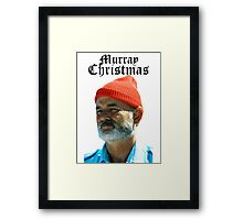 Murray Christmas - Bill Murray  Framed Print