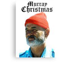 Murray Christmas - Bill Murray  Metal Print