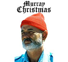 Murray Christmas - Bill Murray  Photographic Print