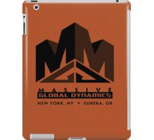Massive Global Dynamics iPad Case/Skin