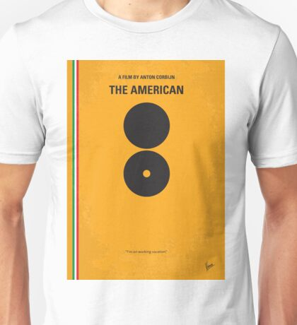No088 My The American minimal movie poster Unisex T-Shirt