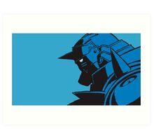 Blue Alphonse Art Print