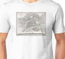 Plan of Frankfurt - 1845 Unisex T-Shirt