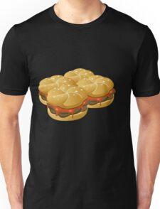 Glitch Food hearty groddle sammich Unisex T-Shirt