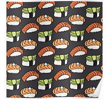 Sushi lovers Poster