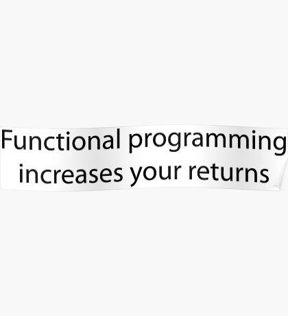 Functional Programming = :) Poster