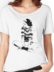 Sitting Pretty Women's Relaxed Fit T-Shirt