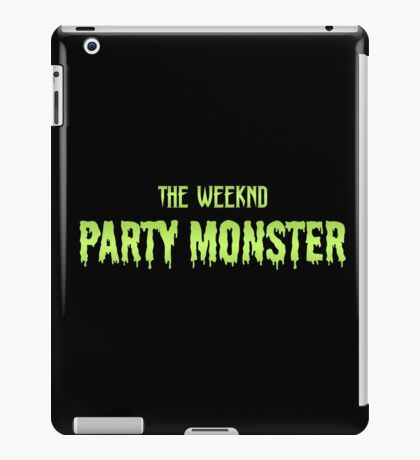 Party Monster iPad Case/Skin