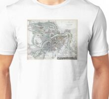 Plan of St Petersburg - Russia - 1834 Unisex T-Shirt