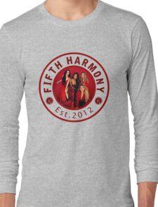 FIFTH HARMONY CIRCLE RED PHOTOSHOOT Long Sleeve T-Shirt