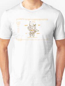 Jango Fett Fallout Style (New Vegas, Orange) T-Shirt