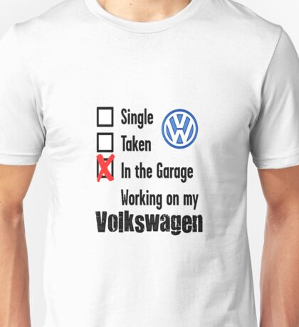 VW Relationship Unisex T-Shirt