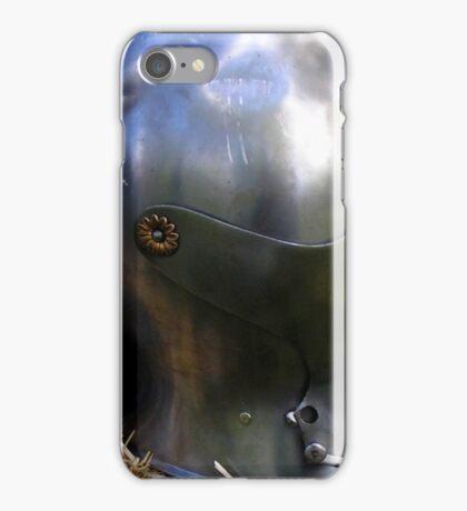 Medieval dented helmet iPhone Case/Skin