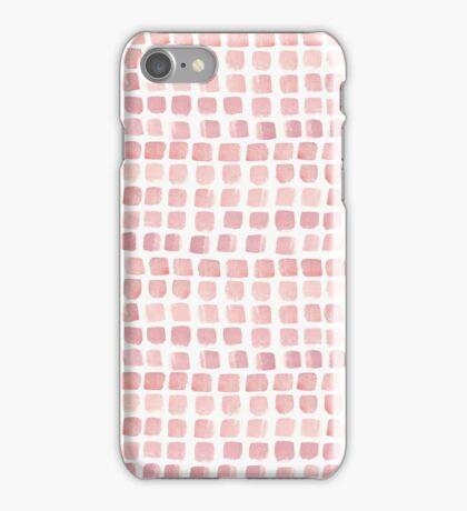 Pink blocks iPhone Case/Skin