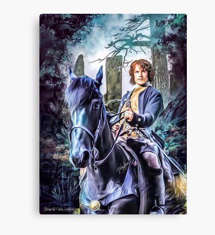 James Alexander Malcolm MacKenzie Fraser Canvas Print