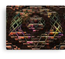 The Star and City of David Canvas Print