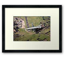 Getting Airborne Framed Print