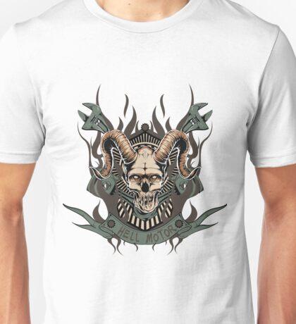 Hell motor- Demon- Skull- Vintage Unisex T-Shirt