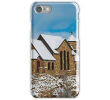 St Malo Church Chapel on a Rock iPhone Case/Skin