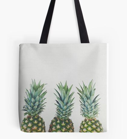 Pineapple Trio Tote Bag