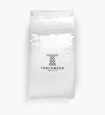 torchwood institute Duvet Cover