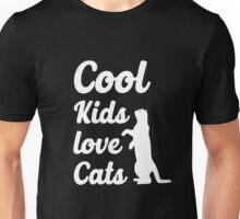 Cool Kids Love Cats Unisex T-Shirt