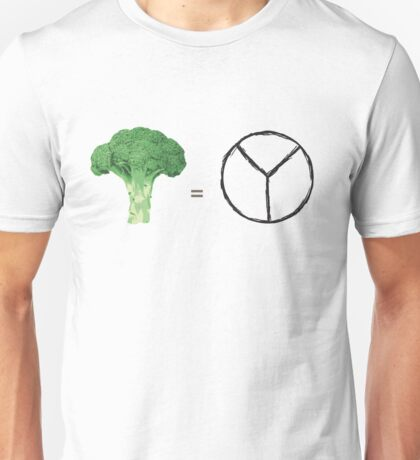 Plants = Peace Unisex T-Shirt