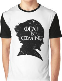 Olaf is Coming Graphic T-Shirt