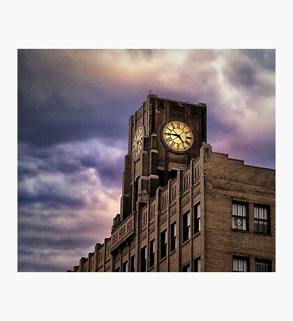 Under the Clock Photographic Print