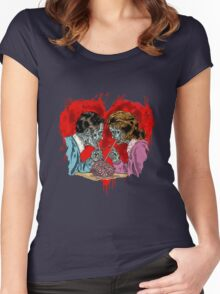 Love Never Dies Women's Fitted Scoop T-Shirt